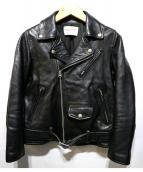 beautiful people(ビューティフル ピープル)の古着「vintage leather riders jacket」 ブラック