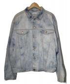 BEAUTY&YOUTH(ビューティアンドユース)の古着「BIGデニムジャケット」|インディゴ