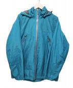 MIZUNO(ミズノ)の古着「ベルグテックEXハードシェルジャケット」|ブルー