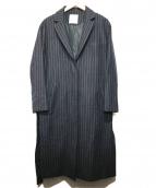CLANE(クラネ)の古着「SIDE SLIT LONG JACKET」|ブラック