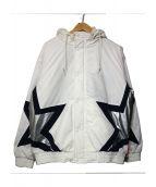 Supreme(シュプリーム)の古着「Stars Puffy Jacket」|ホワイト