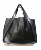 STELLA McCARTNEY(ステラ マッカートニー)の古着「LOGOトートバッグ」 ブラック