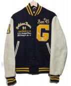 Golden Bear(ゴールデンベア)の古着「スタジャン」|ネイビー