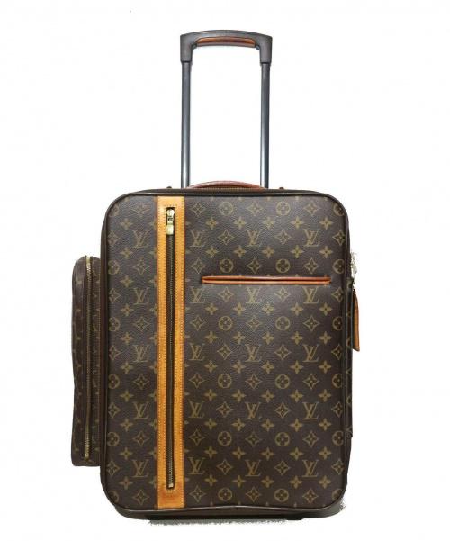 LOUIS VUITTON(ルイ ヴィトン)LOUIS VUITTON (ルイヴィトン) トロリー50 ボスフォール ブラウン サイズ:50 モノグラム M23259 MB3057の古着・服飾アイテム