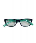 DSQUARED2(ディースクエアード)の古着「眼鏡」|ネイビー×グリーン