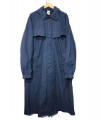 NIKE(ナイキ)の古着「メイドインイタリーレインコート」 ネイビー