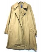ORCIVAL(オーチバル)の古着「メモリークロスビッグコート」|ベージュ
