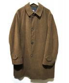 BURBERRY LONDON(バーバリーロンドン)の古着「アンゴラウールコート」 ブラウン