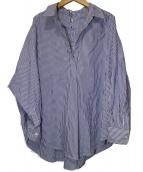 JOURNAL STANDARD(ジャーナルスタンダード)の古着「カラ-ローンストレースアップシャツ」