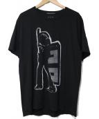 THEE HYSTERIC XXX(ジィヒステリックトリプルエックス)の古着「半袖Tシャツ」|ブラック