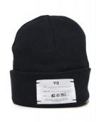 Y-3(ワイスリー)の古着「Logo Beanie」|ブラック