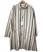 CIAOPANIC(チャオパニック)の古着「ストライプシャツコート」