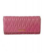 MIU MIU(ミュウミュウ)の古着「長財布」