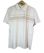 BURBERRY LONDON(バーバリーロンドン)の古着「ポロシャツ」|ホワイト