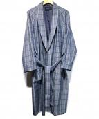 BURBERRY LONDON(バーバリーロンドン)の古着「ローブコート」|グレー