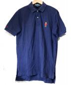 POLO RALPH LAUREN(ポロ バイ ラルフローレン)の古着「ポロベアーポロシャツ」|ネイビー