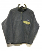 Patagonia(パタゴニア)の古着「シンチラスナップTジャケット」|グレー