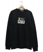 ALYX(アリクス)の古着「クルーネックウィズマルチカラーロゴ」 ブラック