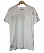 CHROME HEARTS(クロムハーツ)の古着「バックプリントポケットT」|ホワイト