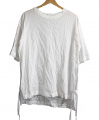 THEE(シー)の古着「Slit shirts」|ホワイト