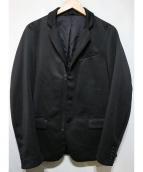 DIESEL(ディーゼル)の古着「ジャージージャケット」 ブラック