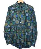 GABRIELE PASINI(ガブリエレパジーニ)の古着「シルクシャツ」|グリーン
