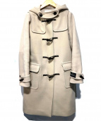 BEAUTY&YOUTH(ビューティアンドユース)の古着「パイルメルトンダッフルコート」|ベージュ
