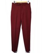 ALLEGE(アレッジ)の古着「パンツ」|ボルドー