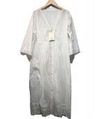 SLOBE IENA(スローブ イエナ)の古着「マニーレースピンタックワンピース」|ホワイト