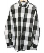 Black Fleece(ブラックフリース)の古着「ブロックチェックシャツ」