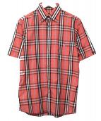 BURBERRY BLACK LABEL(バーバリーブラックレーベル)の古着「チェックシャツ」