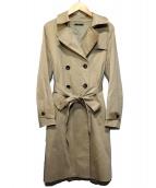 ROSSO(ロッソ)の古着「リボントレンチコート」|ベージュ