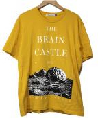 UNDERCOVER(アンダーカバー)の古着「BRAIN CASTLE TEE」|イエロー