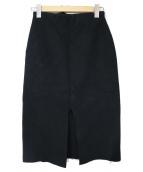 MUSE de Deuxieme Classe(ミューズ ドゥーズィエムクラス)の古着「SAMOA タイトスカート」|ブラック