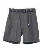 THE NORTHFACE PURPLELABEL(ザ・ノースフェイス パープルレーベル)の古着「65/35 Washed Field Shorts With」|ブラック