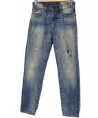 LEVIS VINTAGE CLOTHING(リーバイス ヴィンテージ クロージング)の古着「カスタマイズドセルビッチデニム」|インディゴ