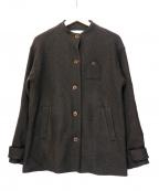 latelier du savon(アトリエドゥサボン)の古着「ウールジャケット」|ブラウン