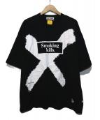 FXXKING RABBITS(ファッキングラビッツ)の古着「FR X TSHIRT」 ブラック