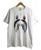 A BATHING APE(ア ベイシング エイプ)の古着「プリントTシャツ」 ホワイト