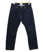 LOWLOOM(ロールーム)の古着「デニムパンツ」|インディゴ