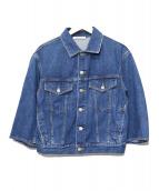CURRENTAGE(カレンテージ)の古着「デニムジャケット」|インディゴ