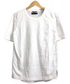 junhashimoto(ジュンハシモト)の古着「FABRIC.ORGANIC COTTON JERSEY +」 ホワイト