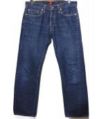 RESOLUTE(リゾルト)の古着「デニムパンツ」|ブルー