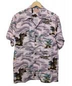 THE REAL McCOYS(ザ・リアルマッコイズ)の古着「アロハシャツ」|パープル