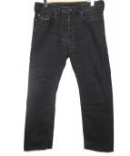 DIESEL(ディーゼル)の古着「BUSTER REGULAR SLIM TAPERED」|ブラック