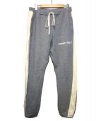 FOG ESSENTIALS(フィアオブゴット エッセンシャル)の古着「sweat pants side striple」|グレー
