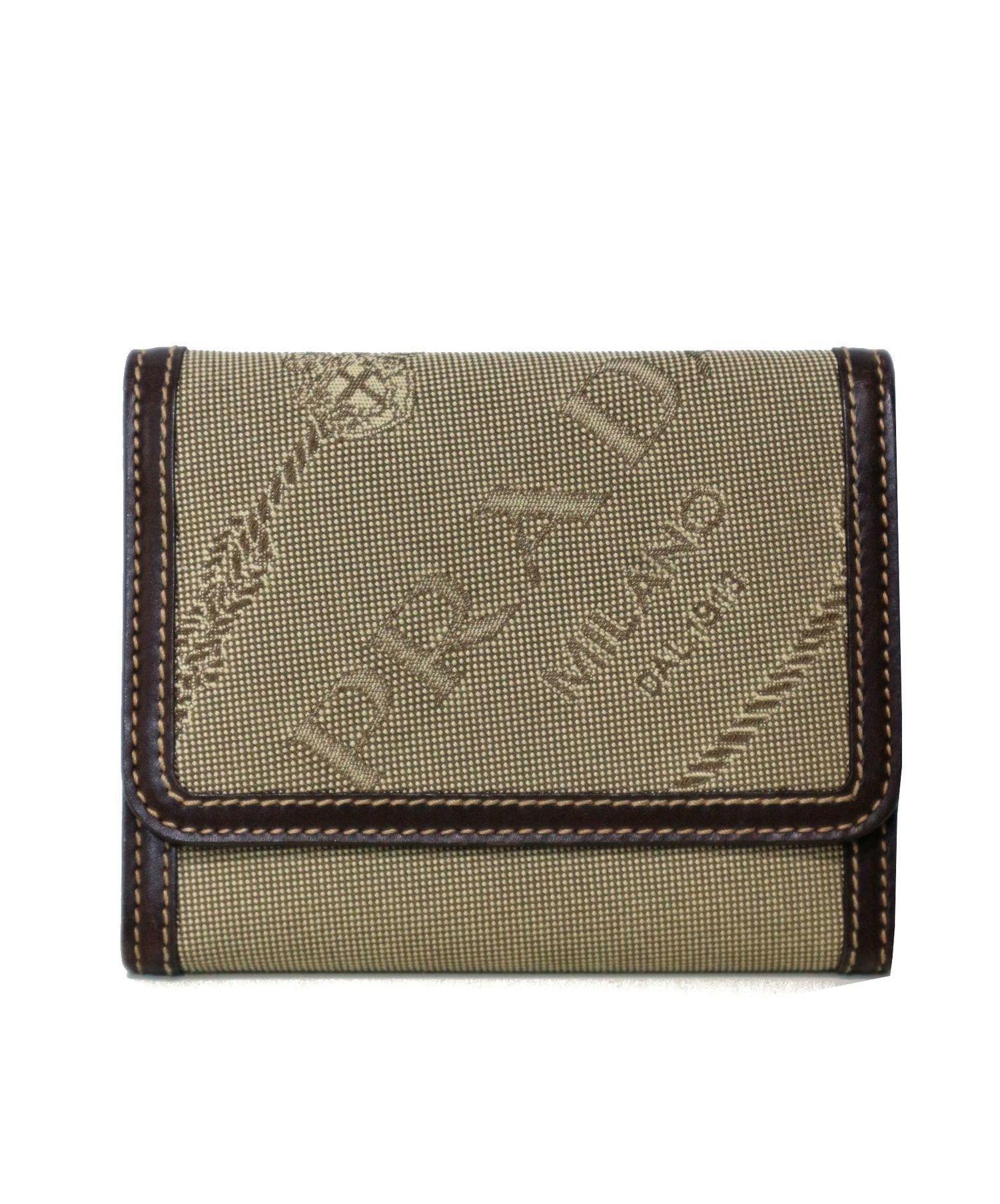 timeless design e31be f2563 [中古]PRADA(プラダ)のレディース 服飾小物 ジャガード3つ折り財布