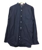 WORK NOT WORK(ワークノットワーク)の古着「インディゴグランダッドシャツ」|インディゴ