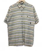 Patagonia()の古着「半袖シャツ」|ブルー