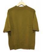 camoshita UNITED ARROWS(カモシタ ユナイテッドアローズ)の古着「カシミヤ混ニット」|マスタード